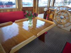 Wheelhouse with the table up