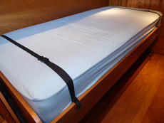 Starboard cabin bed