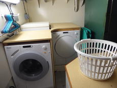 Bowthruster room washing machine