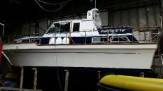 New Paintwork on Cabin sides