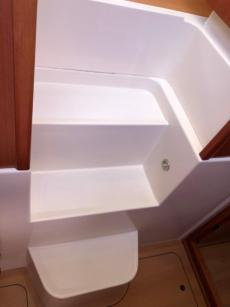 Companion Way Stairs To Cabin
