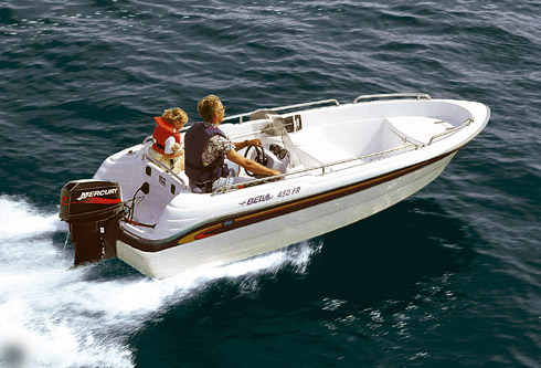 Bella, Bella 450 R for sale, Boats for sale, Used boat ...
