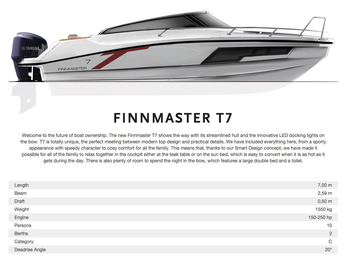 FinnMaster - T7 DC