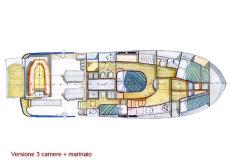 Forward V berth layout