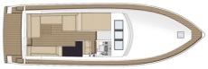 Sealine SC47 Exterior Layout