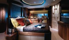 30 Metre Yacht - Lower deck stateroom