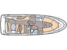 Maxum 2700 SE Floor Plan