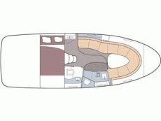 Maxum 3100 SE Floor Plan