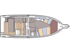 Maxum 2900 SE Floor Plan