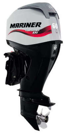 60HP Outboard Electric Start Long Shaft Power Trim