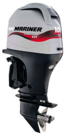 100HP Outboard Electric Start Long Shaft Power Trim