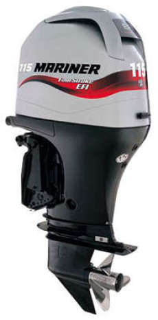 115HP Outboard Electric Start Long Shaft Power Trim