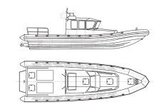 C-RIB 40 PPR Wheelhouse version 1
