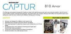 Quicksilver Captur  810 Arvor