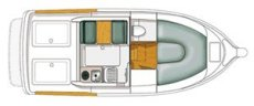 Starfisher ST-780 Floor Plan