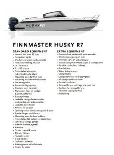 FinnMaster - Husky R7