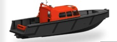 Tideman RBB 950 WJ Cabin - Pilot Boat, Crew Tender