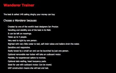 Wanderer Trainer