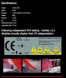 Hartley 12.2 Cruising