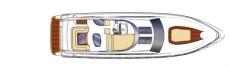 Sealine T60 Flybridge Layout