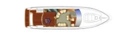 Sealine T60 Deck Layout