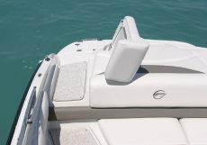 Crownline Bowrider 210 LS - Flip-up sundeck for easy boarding