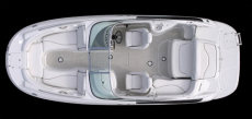 Crownline Deck Boat 220 EX - Layout