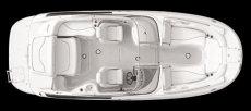 Crownline Deck Boat 240 EX - Layout