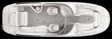 Crownline Deck Boat 262 EX - Layout