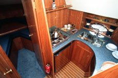 Sheerline 1050 Bluewater Aft Cabin Falley