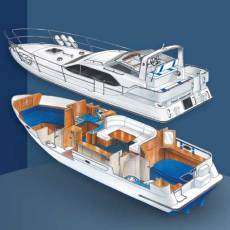 Sheerline 1050 Bluewater Aft Cabin Layout