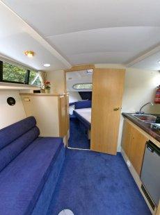 Sheerline 820 Aft Cockpit Saloon